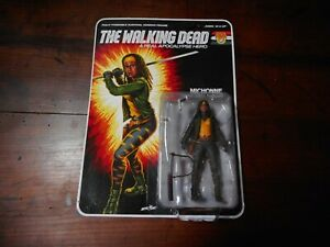 The Walking Dead Real Apocalypse Hero Action Figure McFarland Toys MICHONNE