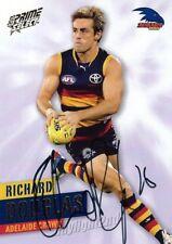 ✺Signed✺ 2013 ADELAIDE CROWS AFL Card RICHARD DOUGLAS