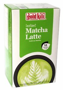 Gold Kili Chinese Instant MATCHA LATTE Tea Drink 10 Sachets 250g UK Seller!