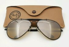 Vintage B&L Ray Ban Bausch & Lomb RB50 The General Black 62mm W0511 w/Case