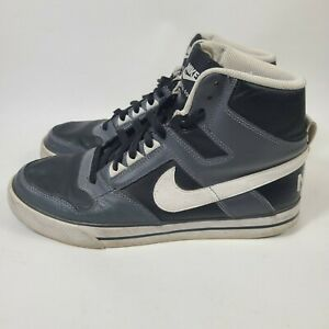 Nike Air Delta Force High 370424-007 Mens Size 9 Black Gray White 2011