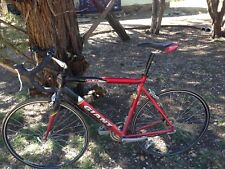 Two OCR Giant road bike red and white