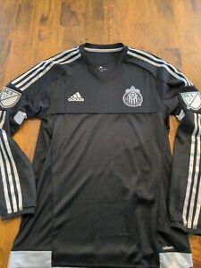 Chivas USA FC LAFC jersey MLS medium Black Long Sleeve Rare