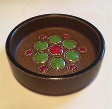 Vintage Retro Hornsea Pottery muramic Pequeño Pin Plato 1974 Clappison Eames Era