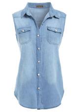 Hauts et chemises jeans pour femme taille 38