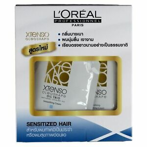 L'Oreal Xtenso Oleoshape Hair Straightener Set for Sensitized Hair 125ml