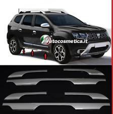 Modanature 6 cornici stampate minigonne in  acciaio cromo per Dacia Duster II 18