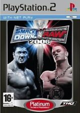 WWE SmackDown Vs Raw 2006 PS2 Versione Platinum