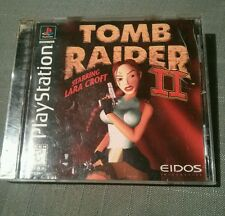 Tomb Raider II Starring Lara Croft (Sony PlayStation 1, 1997) complete