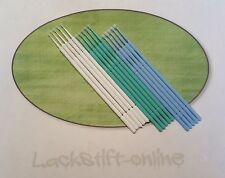 LACKTUPFER Set -15 Mikropinsel - präzise Ausbesserung von Lackschäden - 3 Größen