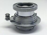 Lens Industar - 50 F 3,5/50 mm Mount M39 Rangefinder FED ZORKY LTM Leica Copy