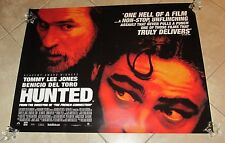The Hunted movie poster - Benicio Del Toro, Tommy Lee Jones - original uk quad