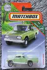 MOC 2019 MATCHBOX 1969 69 NISSAN JUNIOR PICKUP TRUCK GREEN