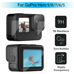 Wholesale Tempered Glass Screen Protector Lens For GoPro Hero 9 8 7 6 5 Black