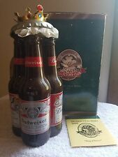 Anheuser Busch AB 2001 King of Beers Members Only Club Stein Budweiser Bottles