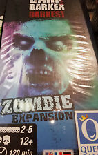 Dark Darker Darkest Zombie Expansion - Board Game Queen Games New!