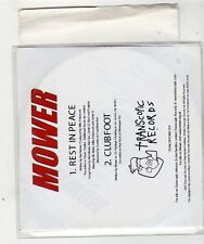 (GE168) Mower, Rest In Peace / Clubfoot - 2002 DJ CD