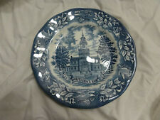 Vintage Avon 1976 Independence Hall Bicentennial Plate Wedgwood