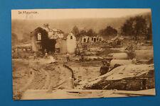Lothringen Vogesen 88 AK CPA St. Maurice 1916 Bahnhof Gare Soldaten Ruinen 1.WK