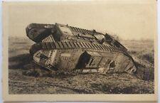 CPA - Epave de char anglais - Fort de la Pompelle - 1914-18