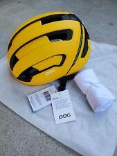 POC Omne Air SPIN Road Bike Commuter Helmet - Bumblebee - Large 56-61