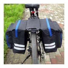 Double sacoche de vélo porte-bagage set de 2 sacoches cycle pannier sac set