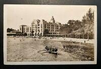 Mint Vintage Royal Hawaiian Hotel Honolulu Hawaii Real Photo Postcard RPPC