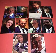 1996 Intrepid X-Files Trading Card Set (90)NM/MT