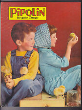 Album PIPOLIN du N°55 au numéro 60, avril à septembre 1962