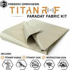 TitanRF Faraday Fabric (1 yard) - EMI Shielding & RFID Shielding Material