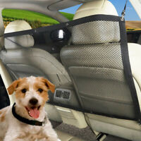 Pet Car Dog Car Barrier Guard Back Seat Safety Protector Mesh Net Fence for SUV