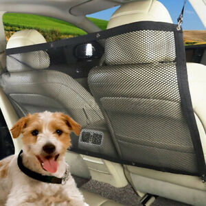 Car Dog Pet Barrier Guard Back Seat Protector Mesh Net Fence For SUV DH*n