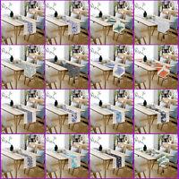 Cotton Linen Table Runner Long Tablecloth Cover Tea Ceremony Party Home Decor