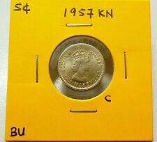 C: Malaya 5 Cents coin 1957KN QEII - BU