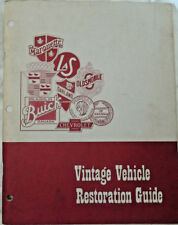 Vintage GM Vehicle Restoration Guide Source Book For Parts Service Literature