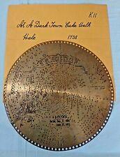 """Vtg . Regina Music Disc . 15 1/2"""" . # 1738 - """"At A Darktown Cake Walk"""""""