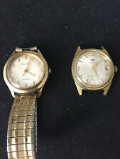 Pair of Vintage Gents Mechanical Watches Waltham and Bulova
