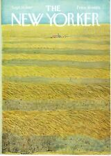 NEW YORKER MAGAZINE ORIGINAL COVER DATED 16TH SEPTEMBER 1967 BY ILONKA KARASZ