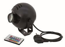 EUROLITE LED PST-9W TCL LED-Pinspot & IRFernbedienung & RGB Spiegelkugellampe