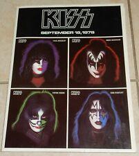 KISS 1978 SOLOS PROMO PRESS KIT COMPLETE GREAT SHAPE