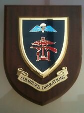 Combined Operations Regimental Military Wall Plaque V2