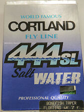 Cortland 444 sl Fly Line Bonefish Taper WF 7 F