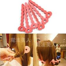 6in1 Women's  Curly Hair Ponytail Hair Maker Styling Hair Roller Organizer Tool