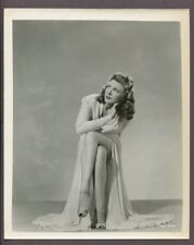 The Ghost of Frankenstein 1942 Evelyn Ankers Original Photo Horror Film Portrait