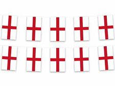 5m St George England Polyester Fabric Bunting Pennant Flag English Sport