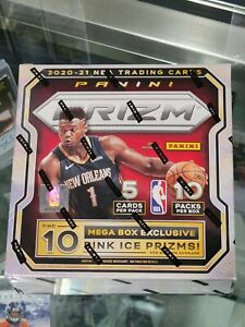 2020-21 NBA PRIZM MEGA BOX!!  Sealed!!  🔥🏀  Pink Ice!!!