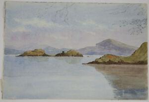 Victorian Watercolour, Edinburgh 17th July 1868
