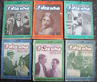 1930 LOTTO DI 6 RIVISTE LETTERARIE 'IL DRAMMA'