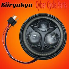 "Kuryakyn Black Orbit Vision 5 3/4"" LED Headlight 2462"