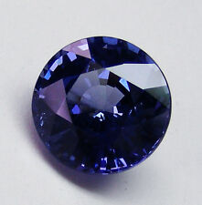 1.71ct BLUE SAPPHIRE NATURAL COLOUR - EXPERTLY FACETED IN GERMANY +CERTIFICATE